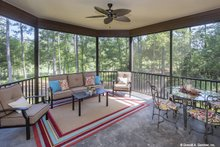 Home Plan - Ranch Exterior - Outdoor Living Plan #929-1007