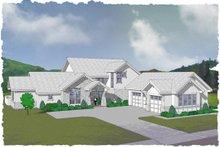Craftsman Exterior - Other Elevation Plan #48-463
