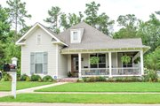 Country Style House Plan - 3 Beds 2 Baths 1900 Sq/Ft Plan #430-56 Exterior - Front Elevation