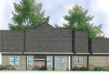 Home Plan - Craftsman Exterior - Rear Elevation Plan #70-902