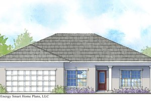 Cottage Exterior - Front Elevation Plan #938-103