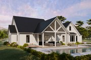 Cottage Style House Plan - 4 Beds 2 Baths 2480 Sq/Ft Plan #406-9656 Exterior - Other Elevation