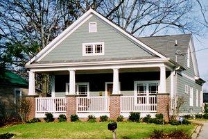 Craftsman Exterior - Front Elevation Plan #30-197
