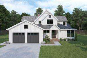 Farmhouse Exterior - Front Elevation Plan #1070-3