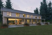 Farmhouse Style House Plan - 3 Beds 3.5 Baths 3374 Sq/Ft Plan #888-15 Exterior - Outdoor Living