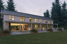 Modern Farmhouse style plan, modern design home, front elevation