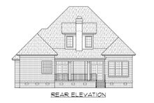 Dream House Plan - Traditional Exterior - Rear Elevation Plan #1054-77