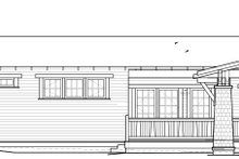 Architectural House Design - Craftsman Exterior - Other Elevation Plan #895-94