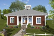 Bungalow Style House Plan - 3 Beds 2 Baths 1488 Sq/Ft Plan #56-619 Exterior - Front Elevation