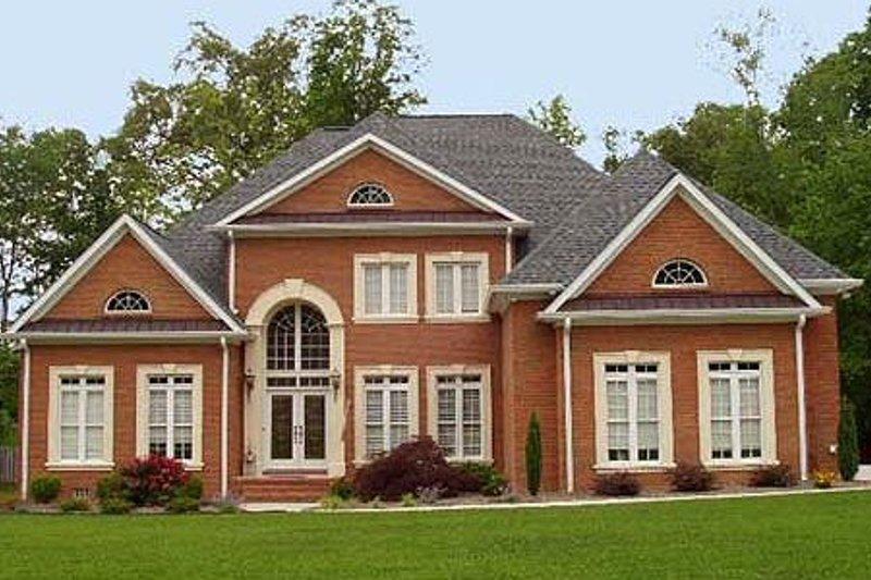 Dream House Plan - European Exterior - Front Elevation Plan #119-129