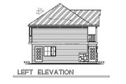 Traditional Style House Plan - 2 Beds 2 Baths 877 Sq/Ft Plan #18-319 Exterior - Other Elevation