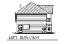 Home Plan Design - Traditional Exterior - Other Elevation Plan #18-319