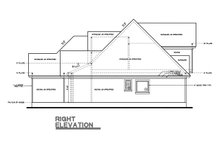 House Plan Design - Country Exterior - Other Elevation Plan #20-262