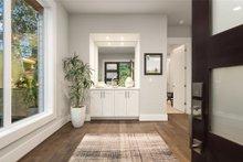 House Design - Contemporary Interior - Entry Plan #1066-62