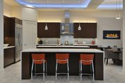 Contemporary Style House Plan - 4 Beds 4 Baths 3536 Sq/Ft Plan #935-18 Interior - Kitchen