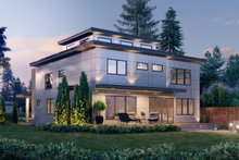 Dream House Plan - Contemporary Exterior - Other Elevation Plan #1066-113