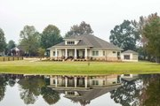 Prairie Style House Plan - 3 Beds 3.5 Baths 2476 Sq/Ft Plan #930-463 Exterior - Other Elevation