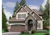 Home Plan - European Exterior - Front Elevation Plan #48-401
