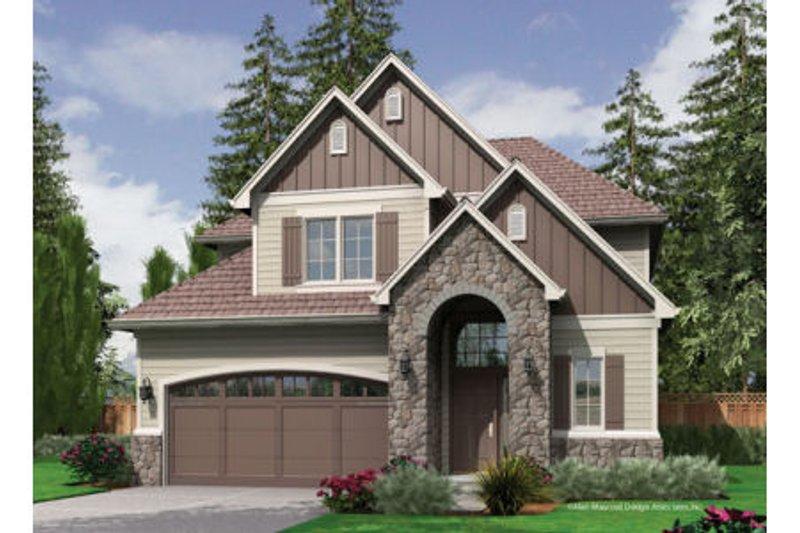 Dream House Plan - European Exterior - Front Elevation Plan #48-401