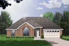 Traditional Exterior - Front Elevation Plan #40-185