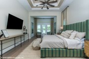 Modern Style House Plan - 4 Beds 4.5 Baths 3726 Sq/Ft Plan #930-519 Interior - Master Bedroom
