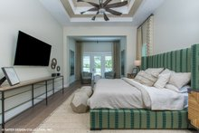 House Plan Design - Modern Interior - Master Bedroom Plan #930-519