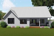 Farmhouse Style House Plan - 3 Beds 2 Baths 1797 Sq/Ft Plan #455-216 Exterior - Rear Elevation