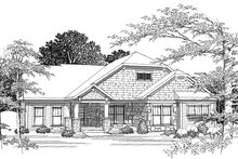 Dream House Plan - Ranch Photo Plan #70-1039