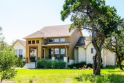 Traditional Style House Plan - 5 Beds 4 Baths 3287 Sq/Ft Plan #80-191 Exterior - Front Elevation