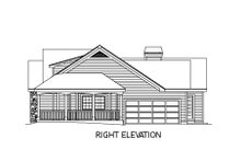 House Plan Design - Farmhouse Exterior - Other Elevation Plan #57-178