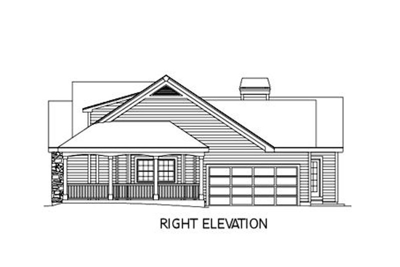 Farmhouse Exterior - Other Elevation Plan #57-178 - Houseplans.com