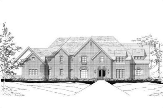 Traditional Exterior - Front Elevation Plan #411-244