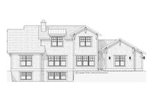 Craftsman Exterior - Rear Elevation Plan #901-67