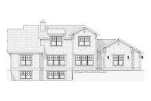 Dream House Plan - Craftsman Exterior - Rear Elevation Plan #901-67