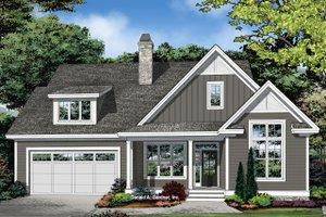 Farmhouse Exterior - Front Elevation Plan #929-1095