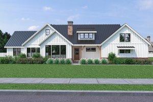 Farmhouse Exterior - Front Elevation Plan #1070-31