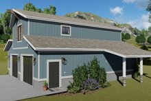 House Plan Design - Traditional Exterior - Other Elevation Plan #1060-97