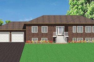 Modern Exterior - Front Elevation Plan #414-134