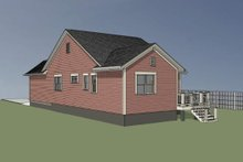 House Plan Design - Bungalow Exterior - Other Elevation Plan #79-307