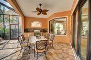 Mediterranean Style House Plan - 4 Beds 4 Baths 3012 Sq/Ft Plan #27-445 Exterior - Outdoor Living