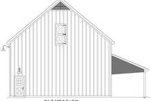 House Blueprint - Country Exterior - Other Elevation Plan #932-372