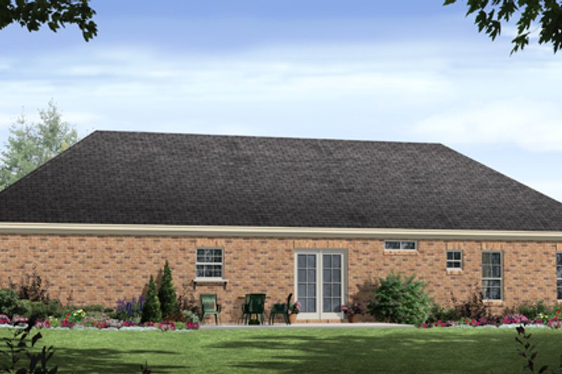 Ranch Exterior - Other Elevation Plan #21-235 - Houseplans.com