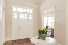 Dream House Plan - Craftsman style home, foyer photo