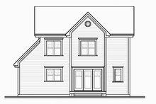 Home Plan - Farmhouse Exterior - Rear Elevation Plan #23-2257