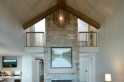 Farmhouse Style House Plan - 4 Beds 5 Baths 3536 Sq/Ft Plan #928-310 Interior - Family Room