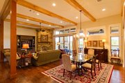 Ranch Style House Plan - 4 Beds 3.5 Baths 3258 Sq/Ft Plan #935-6 Interior - Dining Room