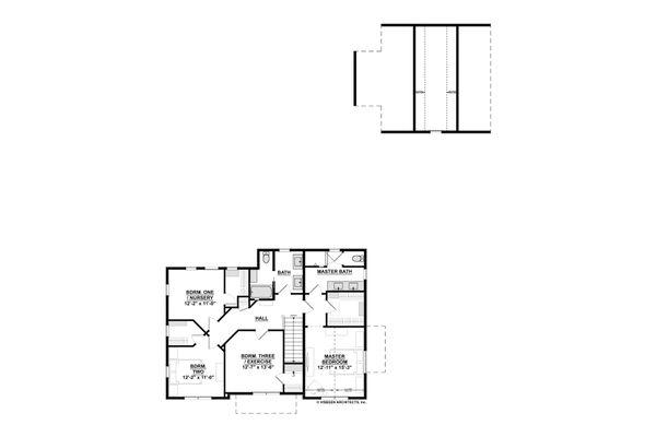 Traditional Floor Plan - Other Floor Plan #928-349