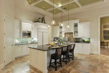 Dream House Plan - Mediterranean Interior - Kitchen Plan #930-508