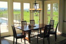 House Plan Design - farmhouse dining room