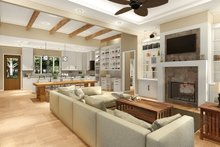 Architectural House Design - Great Room